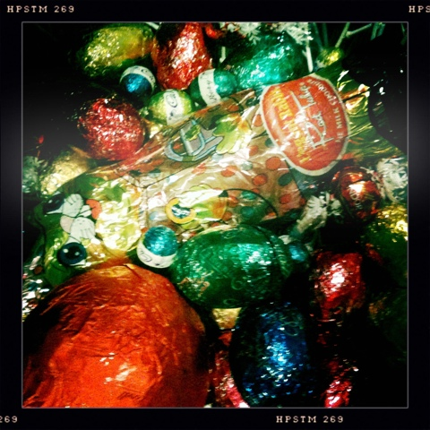 Day 34. Remnants of Easter