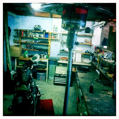 Day 111. Winter Man Cave Time