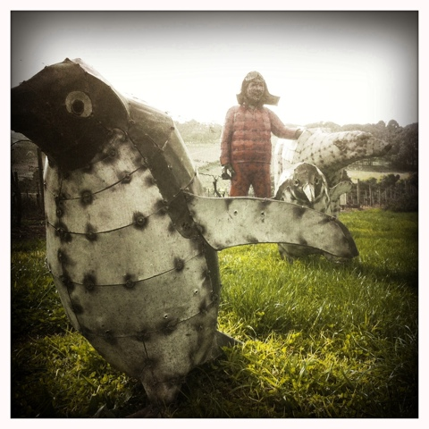 Day 147. Penguin March