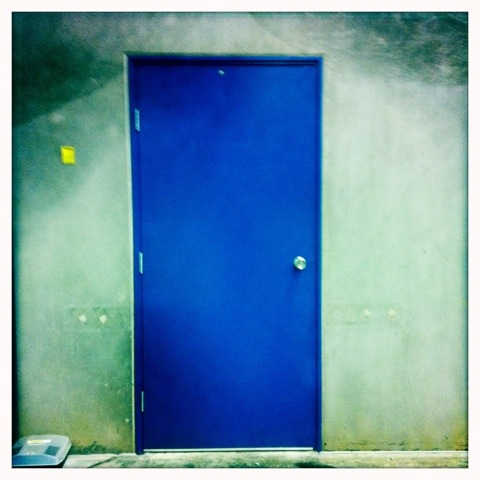 Day 177. Behind the Blue Door