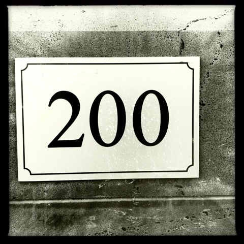 Day 200. two hundred