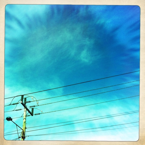 Day 203. Sky Lines