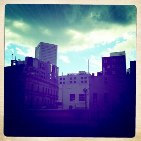Day 304. Melbourne City Back Stage
