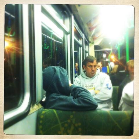 Day 378. Random Tram Travelers #1