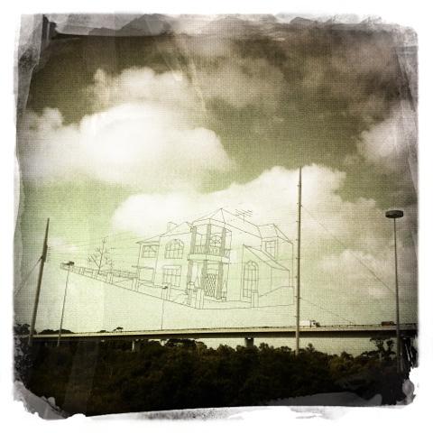 Day 403. Sky house