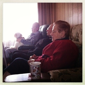 Day 545. footy with the folks