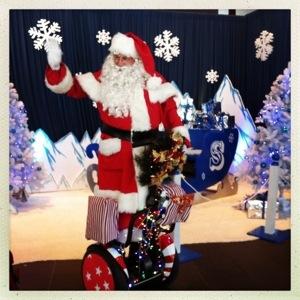 Day 619. Santa's Segway
