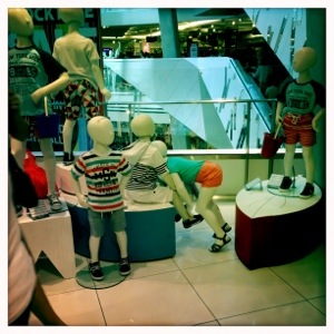 Day 633. Inappropriate Mannequins