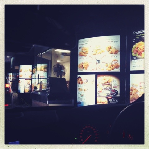 Day 742. Fast Food Drive Thru!