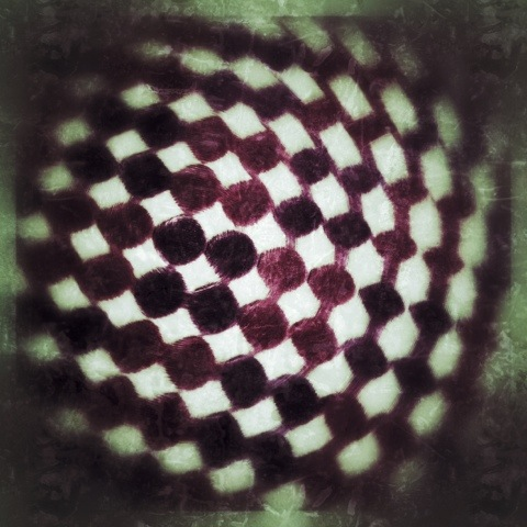 Day 821. checkered spin