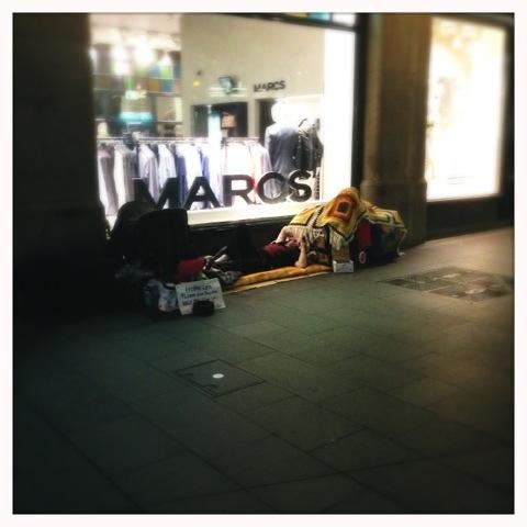 Day 839. Sleeping Rough in Sydney
