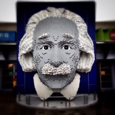 Day 992. Albert Lego Einstein