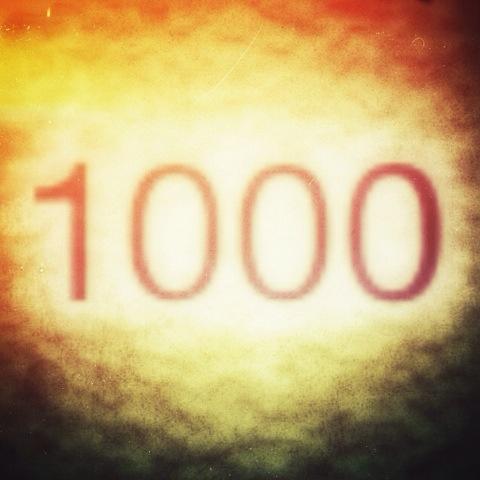 Day 1000. the millennium