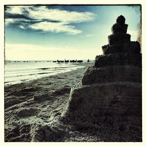 Day 1071. Sand Castles