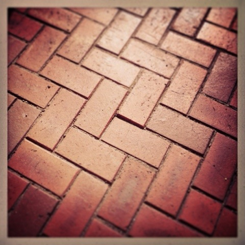 Day 1074. bricked up pavement…