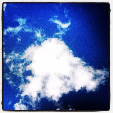 Day 1101. cloud in the sky…