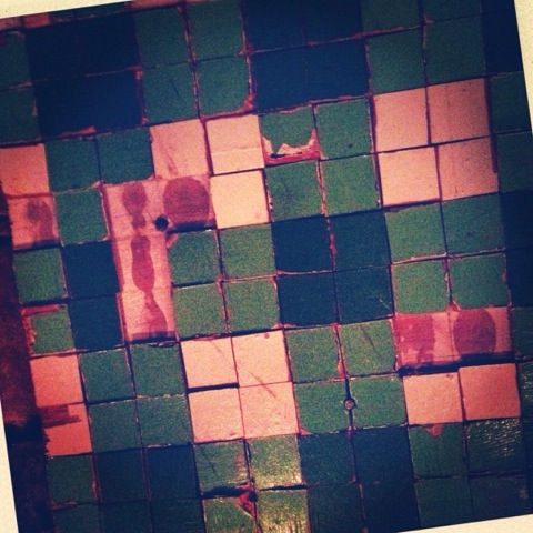 Day 1121. tired tiles…
