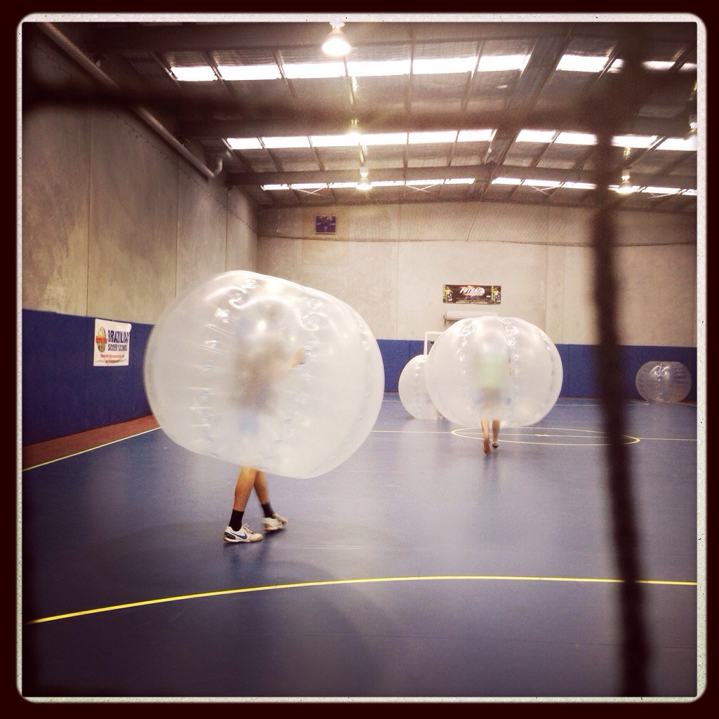 Day 1167. Kon's birthday bubble ball…