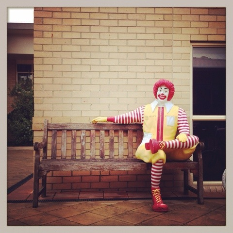 Day 1189. have a seat with Ronald…