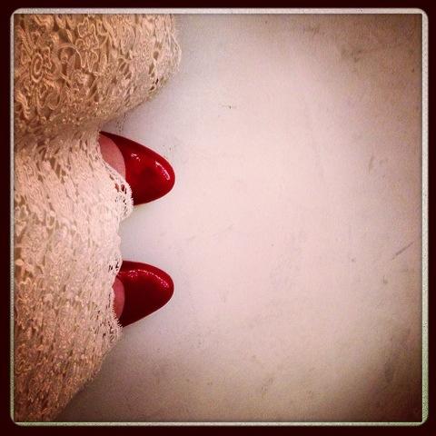 Day 1210. wedding day feet…