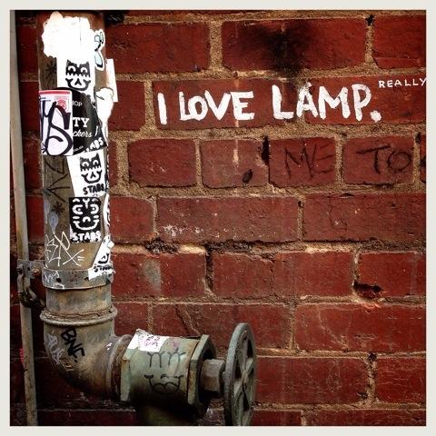 Day 1215. Lamp Love
