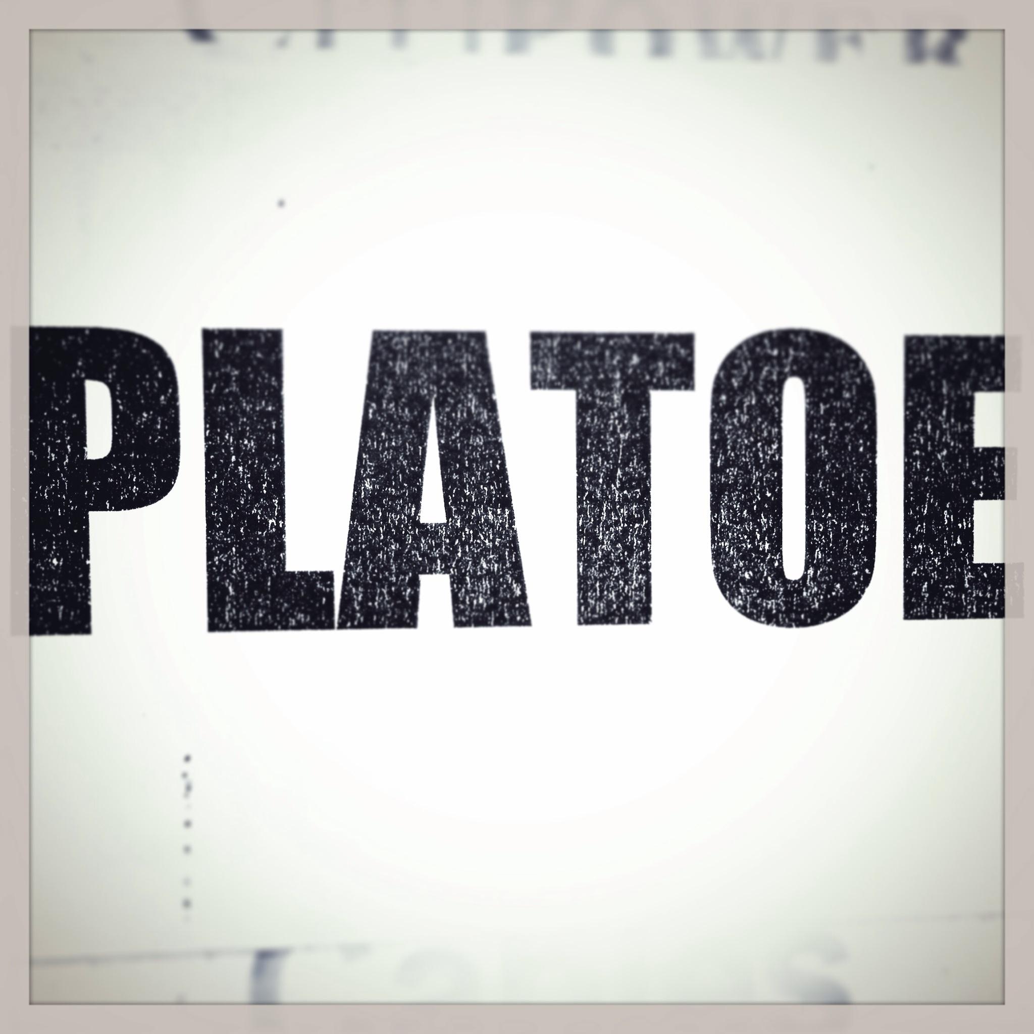 Day 1325. plat'oe…