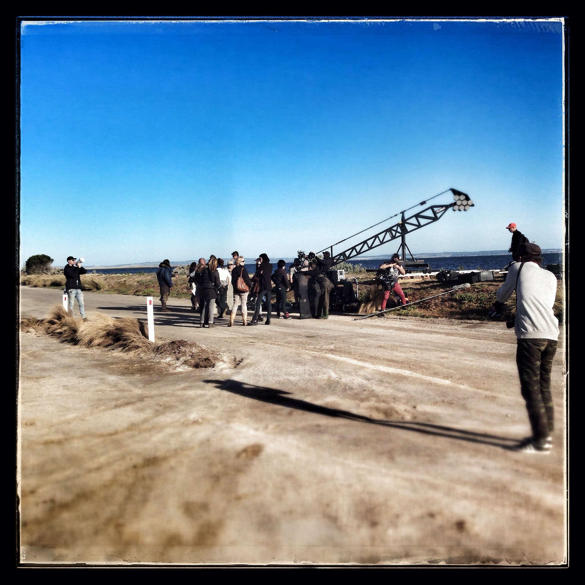 Day 1314. Sunday on Set