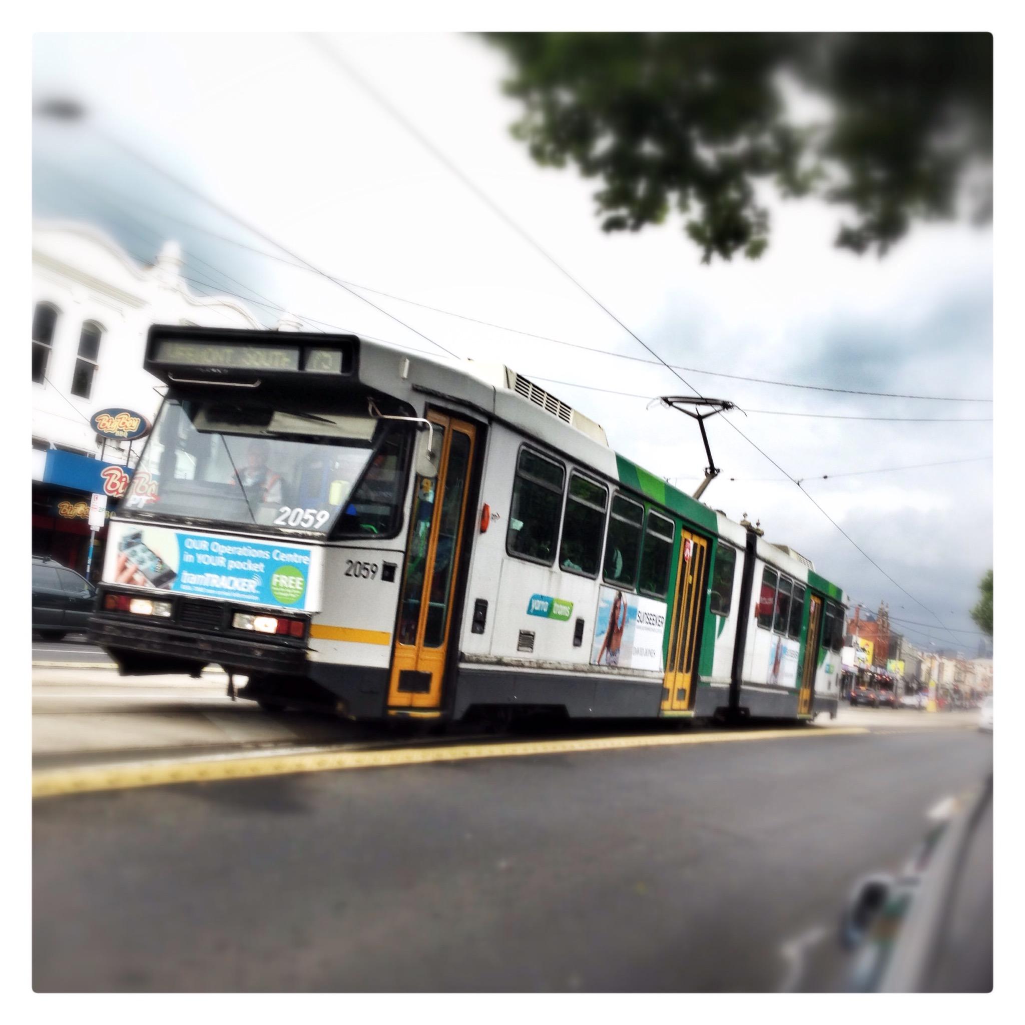 Day 1329. Tram-a-lamma-ding-dong