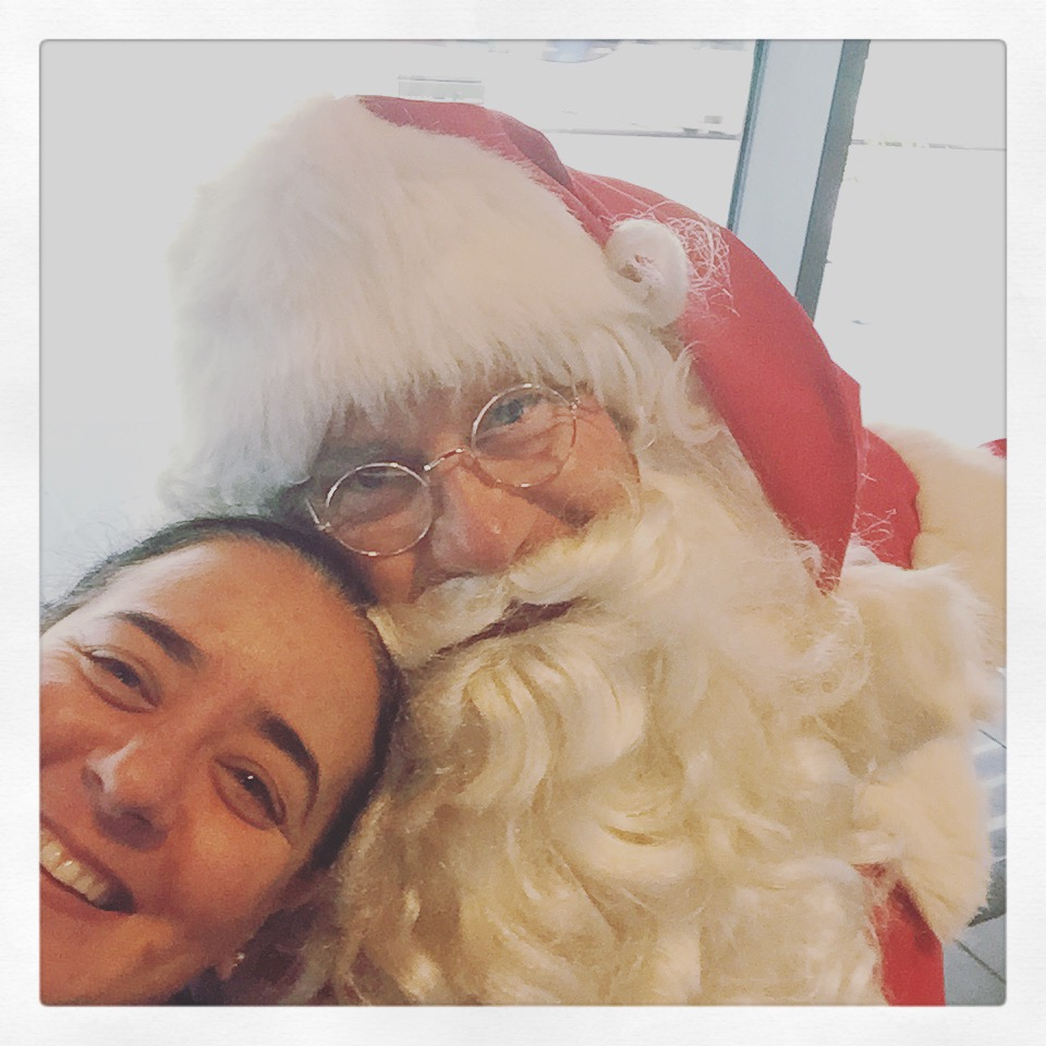 Day 1703. hanging out with Santa…