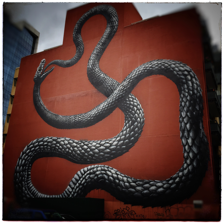Day 1749. Snake Skin Building