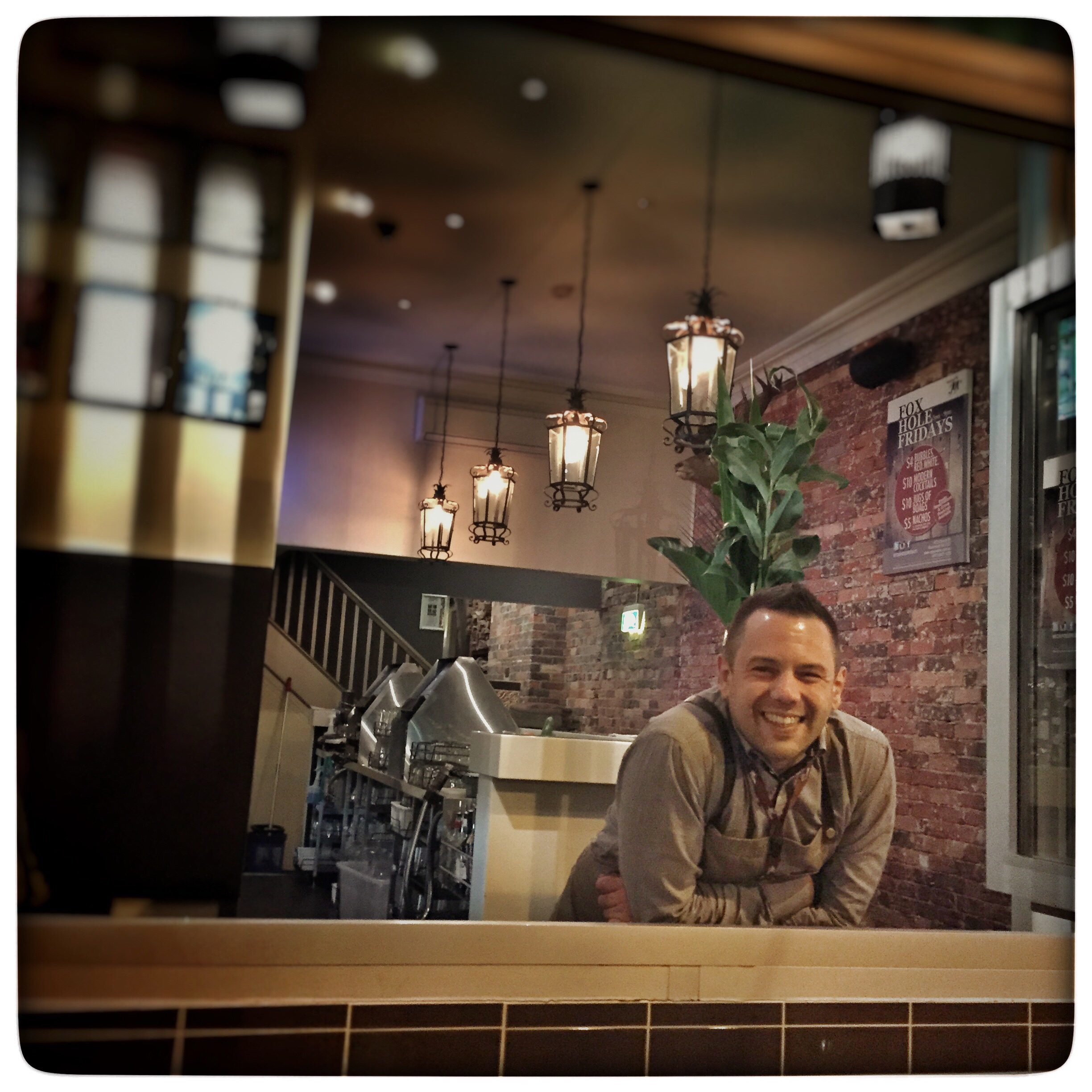 Day 1822. Happy Barman