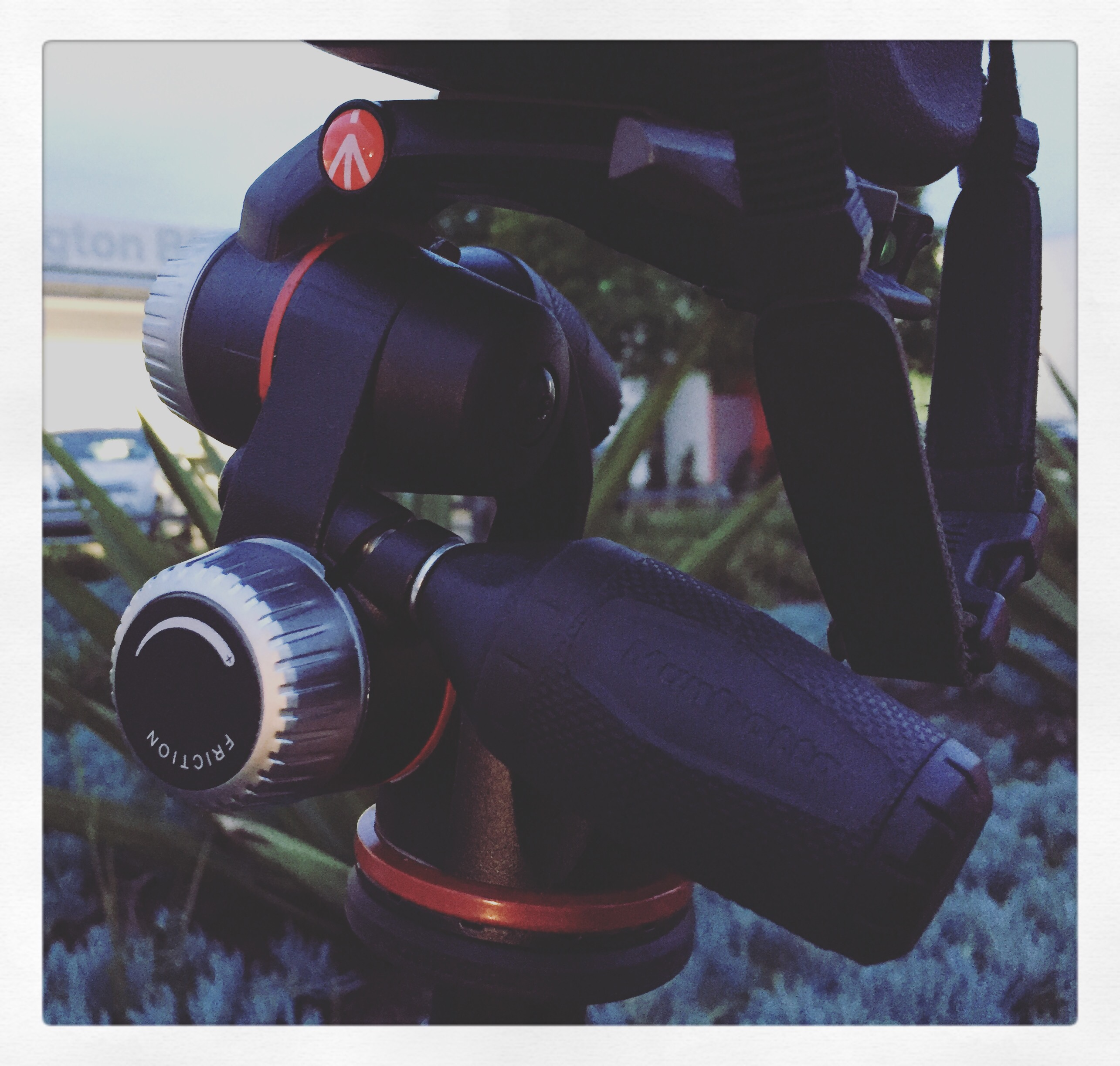 Day 1970. Manfrotto head…