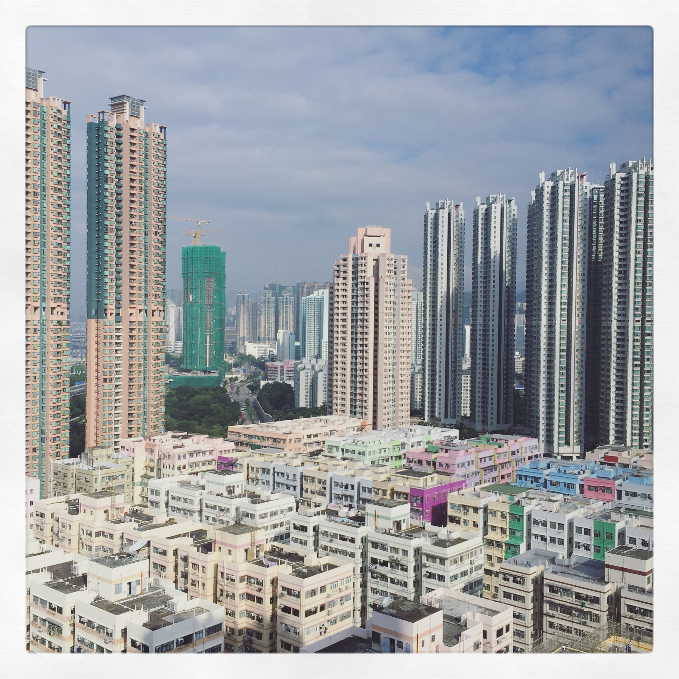 Day 1982. kowloon town…