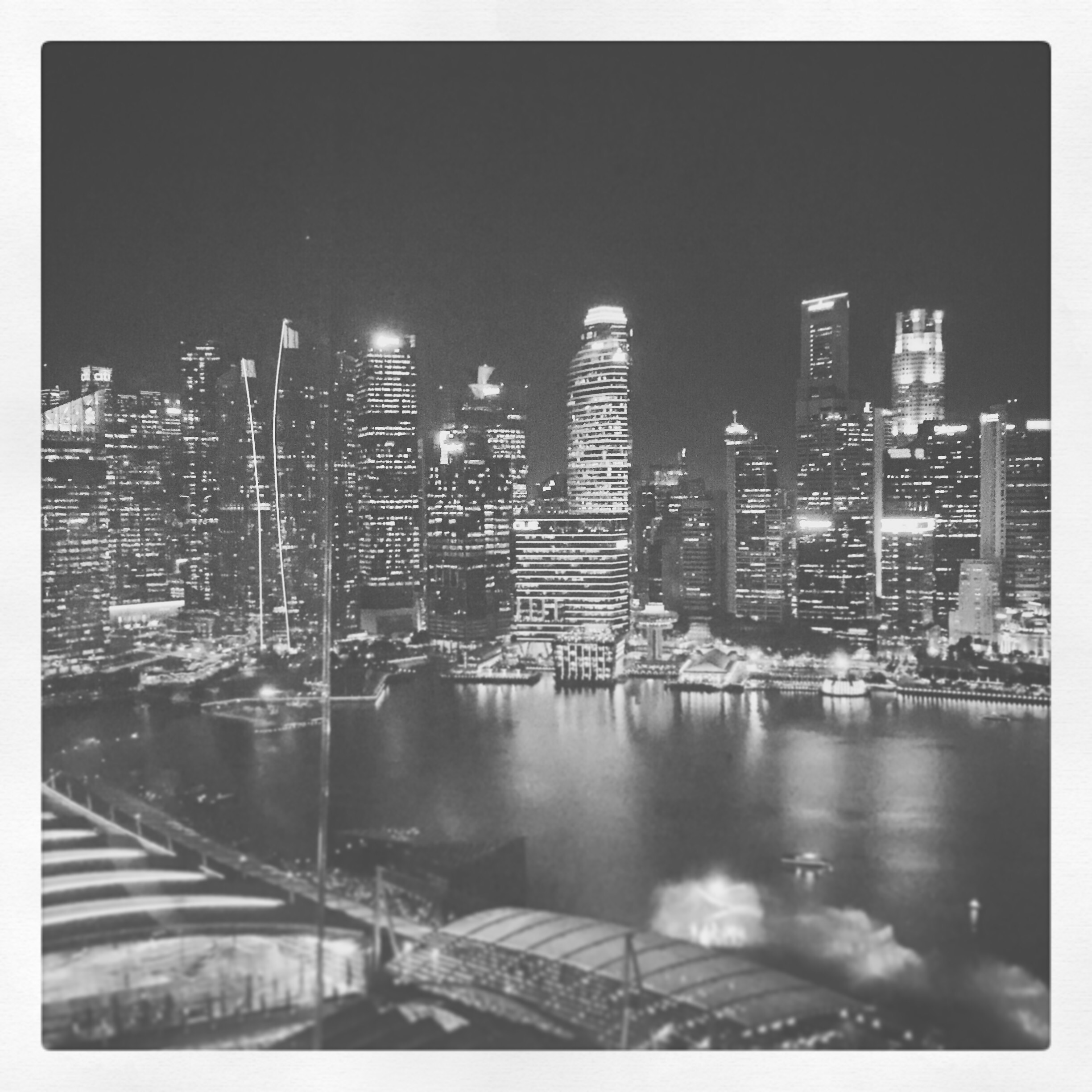 Day 2001. Singapore nights…